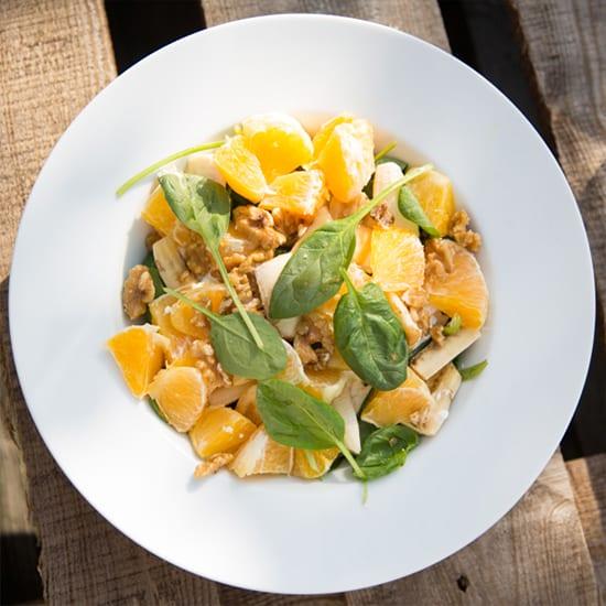 Frisse lunchsalade